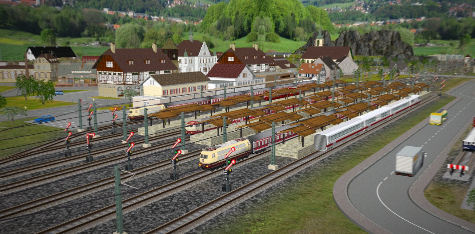 Build Train Track Games Online